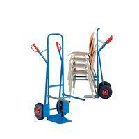Carretilla para sillas - carga 300 kg