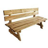 Banco de madera nórdico