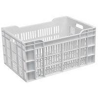 Caja con paredes y fondo calados - Longitud 600 mm - 60 L