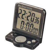 Contador de cuenta atrás, cronómetro y reloj