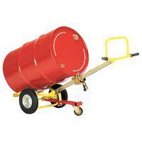 Carretilla para bidones - Modelo automático - Carga 350 kg