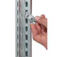 Estantería Easy-Fix - Elemento de partida - Profundidad 600 mm - Galvanizada