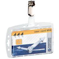 Portatarjetas de identificación para tarjetas magnéticas - Con clip