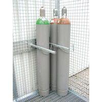 Kit de sujeción para bombonas de gas