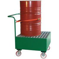 Carro colector metálico - 1 barril