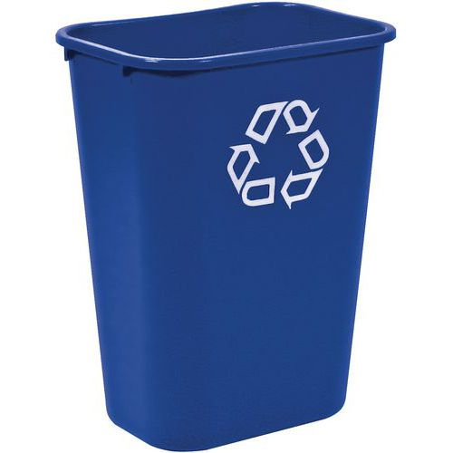 Cubo de basura rectangular Rubbermaid - 26 y 39 L