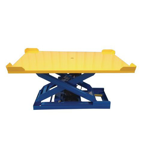 Plataforma rectangular giratoria ergonómica BPT024-47A
