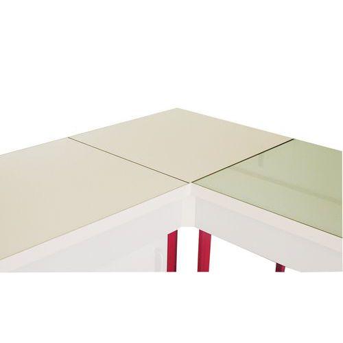Mueble de ángulo modular para laboratorio - Estratificado - Sin respaldo