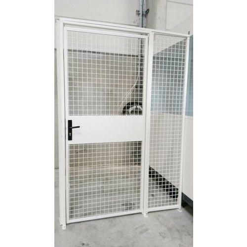 Cerramiento de rejilla modular - Puerta