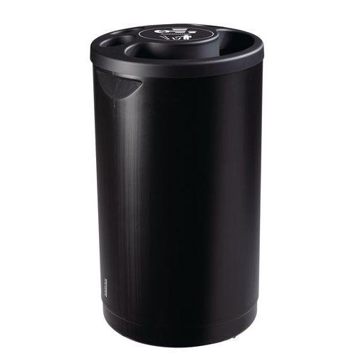 Contenedor de vasos de plástico - 800 vasos de plástico - 25 L