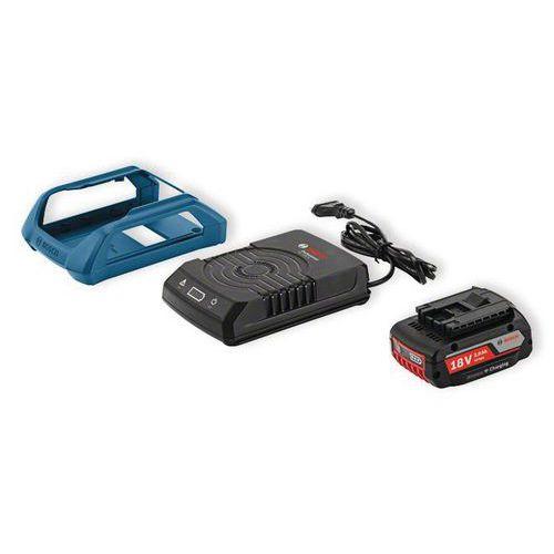 2 baterías Bosch GBA 18 V 2 Ah + cargador GAL 1830 W