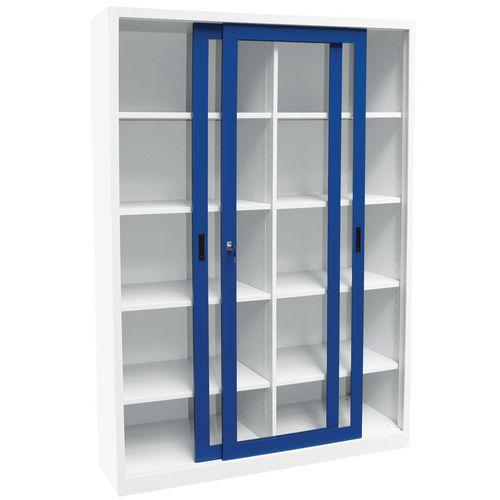 Armario alto monobloque con puertas correderas ch con - Armario 150 puertas correderas ...