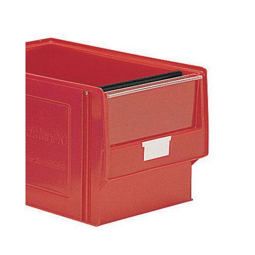 Visera para caja de compartimentación múltiple