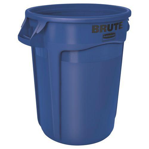 Contenedor redondo Brute - Azul - 121 L