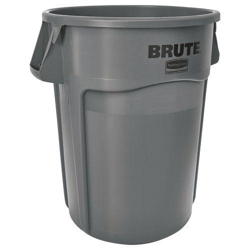 Contenedor redondo Brute - Gris - De 38 a 208 L