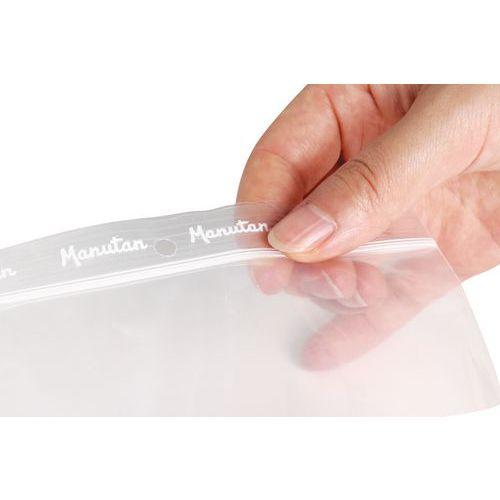 Bolsas zip - Transparente 50 µm - Manutan
