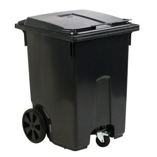 Contenedor de basura y reciclaje exterior