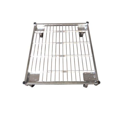 Base de acero para roll-contenedor, capacidad hasta 500 kg