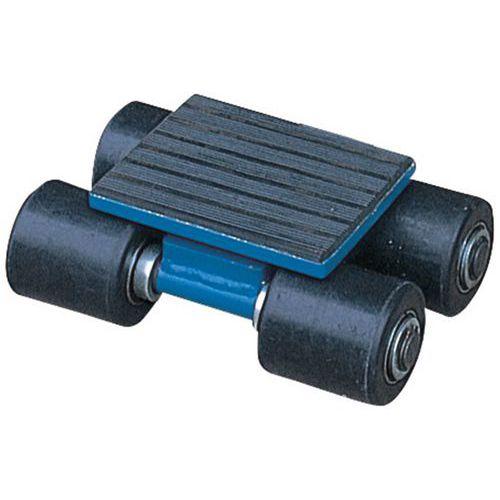 Rollo de transporte sin timón - Soporta de 3000 a 12000 kg
