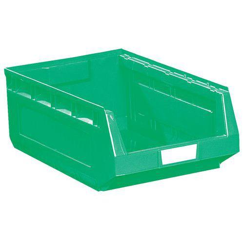 Caja con abertura frontal Kangourou - Longitud 580 mm - 52 L - Manutan