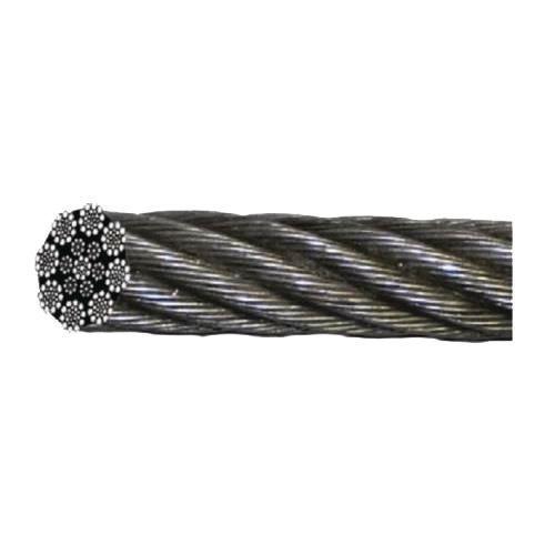 Metro adicional de cable de acero galvanizado para cabrestantes