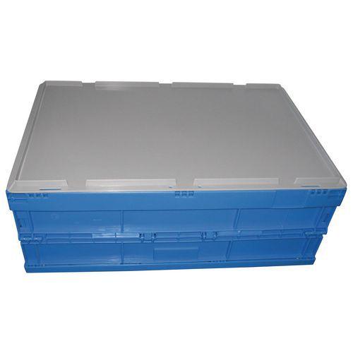 Tapa de caja plegable azul - 600 x 400 mm