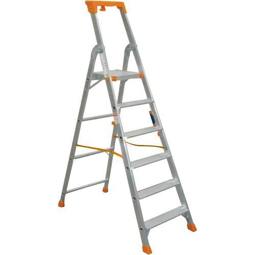 Escalera profesional de aluminio -Manutan