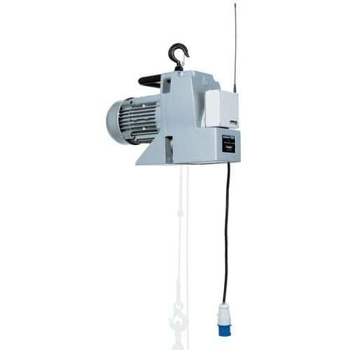 Cabrestante y cabrestante elevador portátil Minifor - Carga de 100 a 500 kg - Con tablero de mando