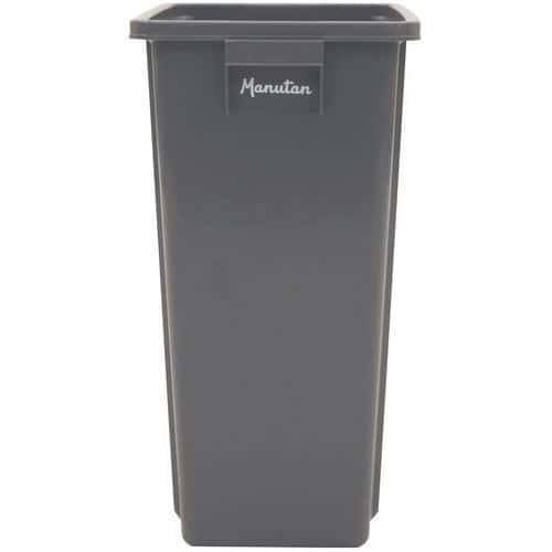 Cubo de basura de recogida selectiva - 60 y 80 L - Manutan