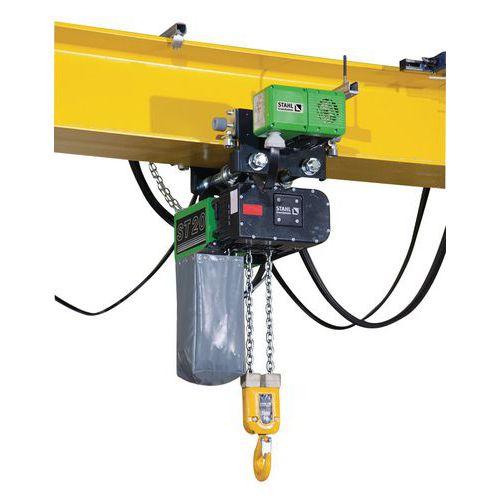 Polipasto eléctrico con carro eléctrico - Capacidad de 1000 a 5000kg - Stahl CraneSystems