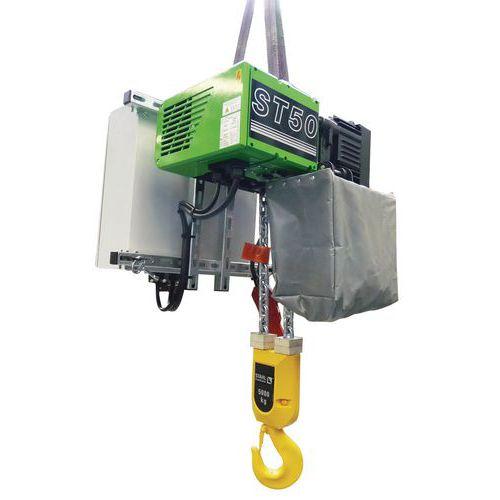 Polipasto eléctrico con gancho - Capacidad de 1000 a 5000kg - Stahl CraneSystems