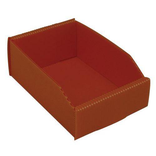 Caja desplegable con abertura frontal - Longitud 180 mm - 1,5 L