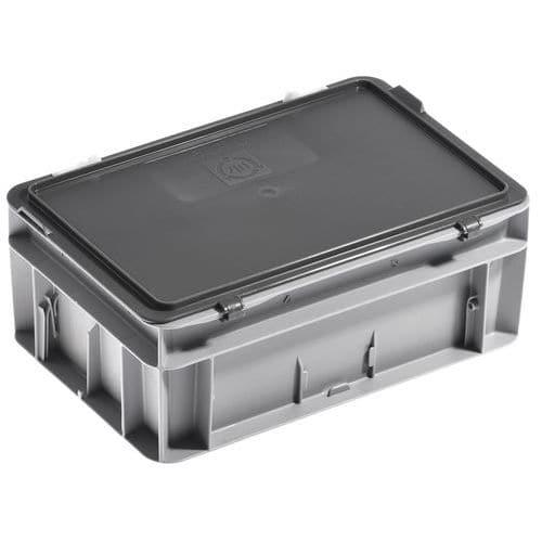 Cajas con tapa RAKO color gris - 300x200 mm - 5 y 9 L