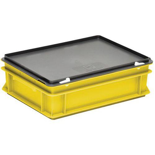 Cajas con tapa RAKO color amarillo - 400x300 mm - de 10 a 40 L