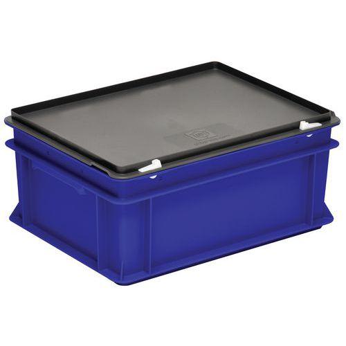 Cajas con tapa RAKO color azul - 300x200 mm - de 5 a 60 L