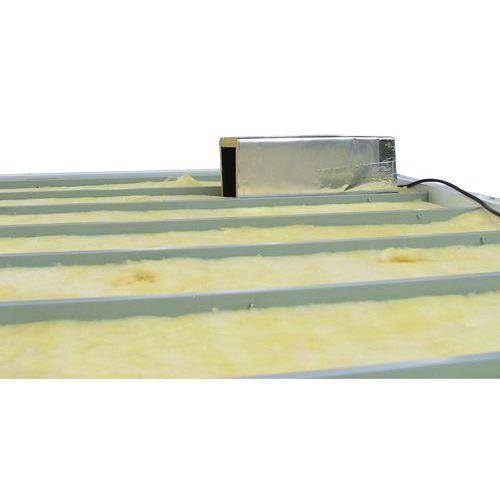 Equipamiento eléctrico y otros accesorios para cabinas prefabricadas paletizables - Aislamiento de lana minera