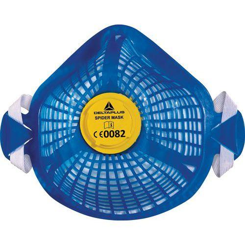 Semimáscara respiratoria Spider, máscara reutilizable