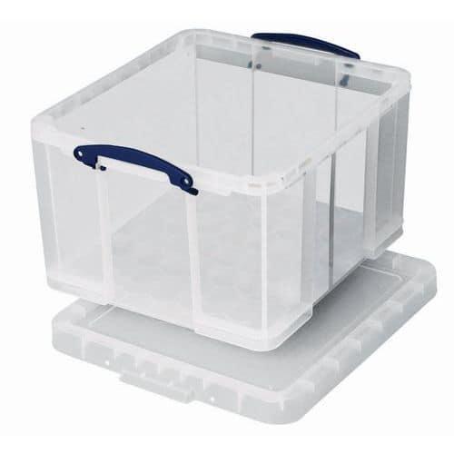 Cubeta de almacenamiento - Longitud 520 mm - Modelo translúcido