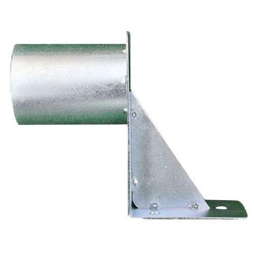 Gancho de fijación en pared Ø76 mm - Manutan