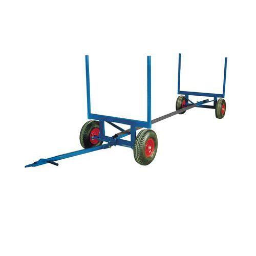 Carretilla telescópica para material largo - Soporta hasta 3500 kg