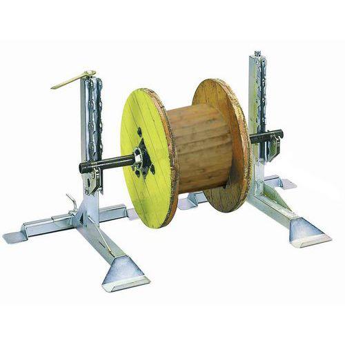 Soportes para torno con tornillo - Capacidad de 1600 kg