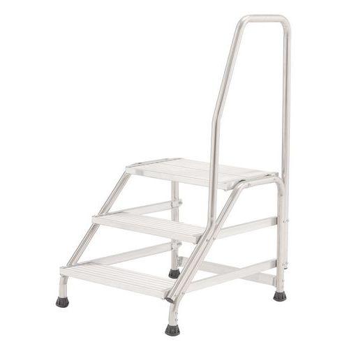 Escalerilla fija con 1 rampa
