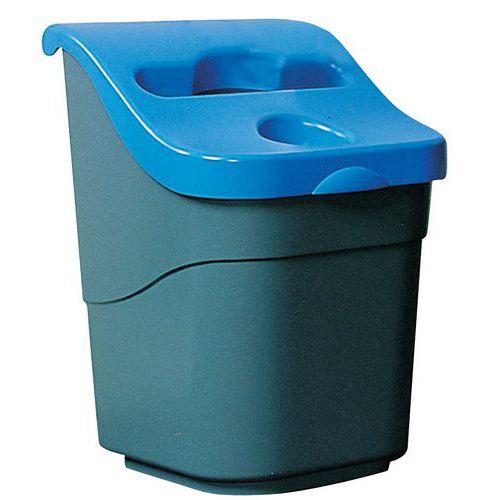 Cubo de basura de recogida selectiva - 30 L