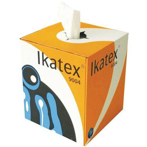 Paño no tejido - Caja distribuidora con dispensación central - 500 formatos - Ikatex
