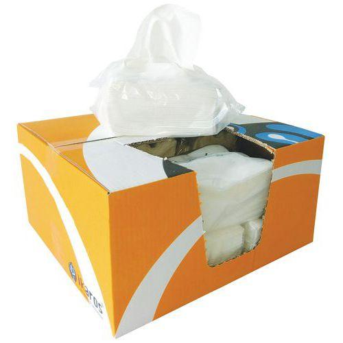 Trapo no tejido Ikatex - Caja dispensadora de bolsas - 500