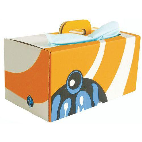 Trapo no tejido Ikatex - Caja distribuidora - 200 formatos