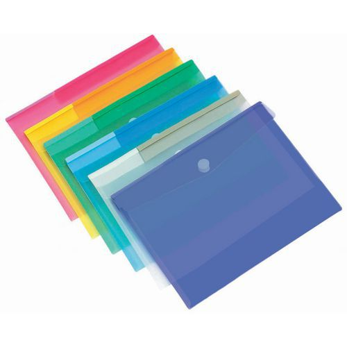 Sobre de presentación - Formato A4 - Colores surtidos