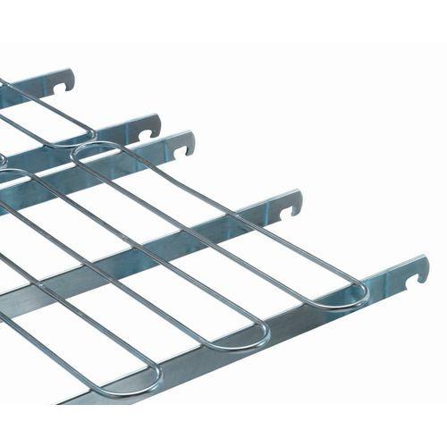 Semirrejilla para roll-contenedor de seguridad Maxi-roll - Carga 600 kg