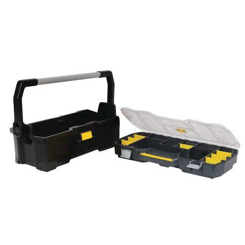 Caja de herramientas con organizador