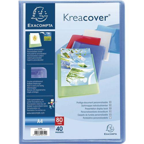 Protegedocumentos semirígido Kreacover A4